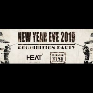 Illustration HEAT CLUB NEW YEAR EVE 2019 : PROHIBITION PARTY