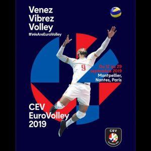 Illustration EUROVOLLEY 2019 à l'Arena Sud de France Montpellier Pérols du 12 au 18 Septembre 2019