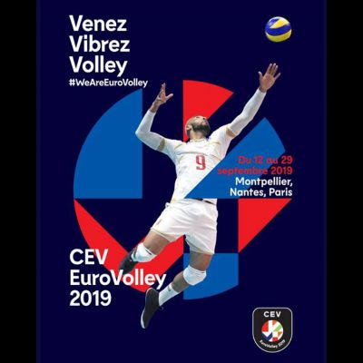 EUROVOLLEY 2019 à l'Arena Sud de France Montpellier Pérols du 12 au 18 Septembre 2019